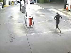 VIDEO: Knife-wielding robber on the loose near Ipswich