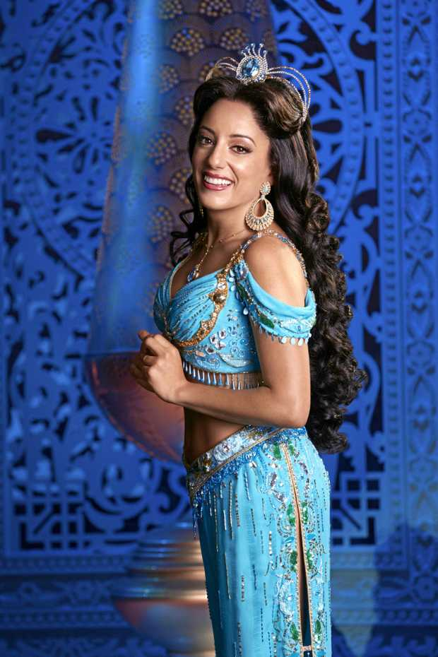 Hiba Elchikhe plays Princess Jasmine in Disney's Aladdin The Musical. Supplied by QPAC.