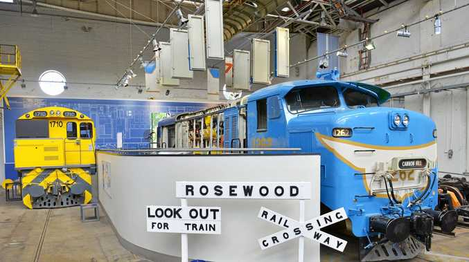 ALL ABOARD: The Workshops Rail Museum has a great line up of interactive displays, hands on activities, exhibits and beautifully restored trains and locomotives.