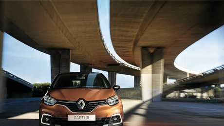 The Renault Captur Inens model.