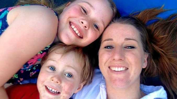 SEARCHING FOR A HOME: Sita Durnell has been desperately seeking a home in Murwillumbah for herself and children Owen, 5, and Charlotte, 12.