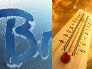 Total scorcher to follow Gympie's coldest Feb day on record