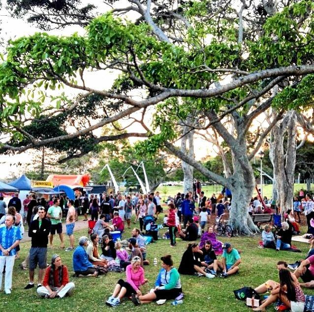 The Twilight Food Markets will be held on the Park Beach Foreshores on Friday.