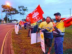 GALLERY: Gladstone workers rally against casualisation