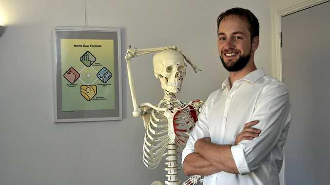 HERE TO HELP: Chiropractor Michael Osborne will host a workshop called Raising Healthy Children.