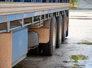 Truck safety slug as farmers face huge fines