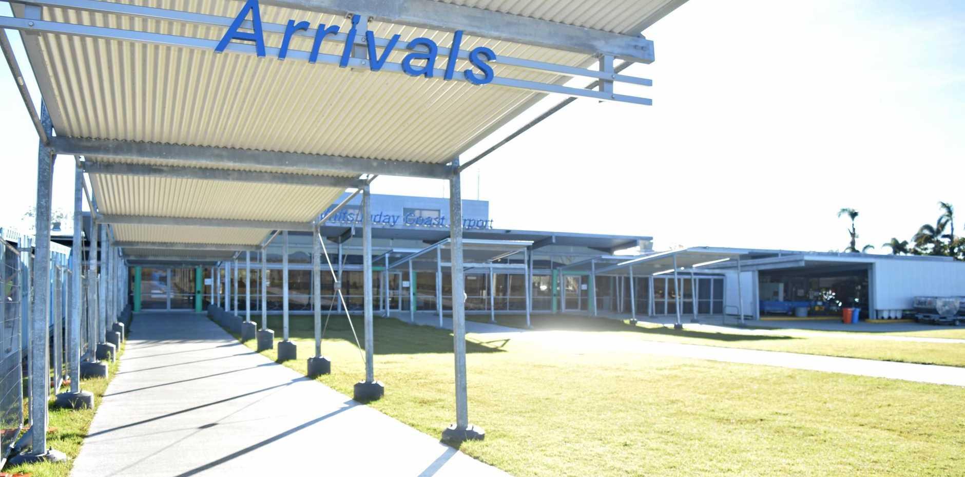 The Whitsunday Coast Airport.