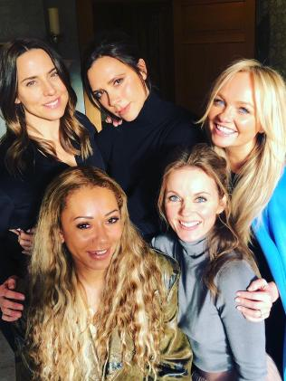 The Spice Girls reunited last week. Picture: Instagram