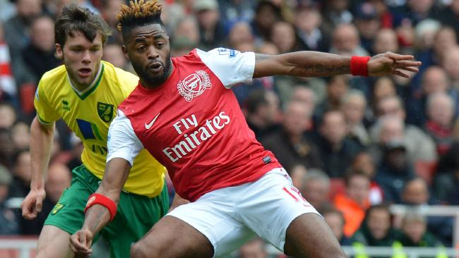 Alex Song during his time at Arsenal