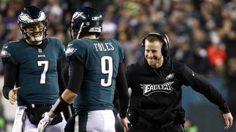 Philly has rallied around Foles ever since Wentz was injured.