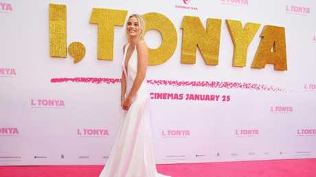 Margot Robbie arrives at the Australian Premiere of