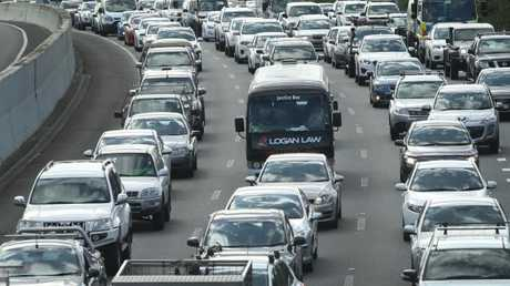 RACQ says motorists should avoid the M1 at all costs if possible.
