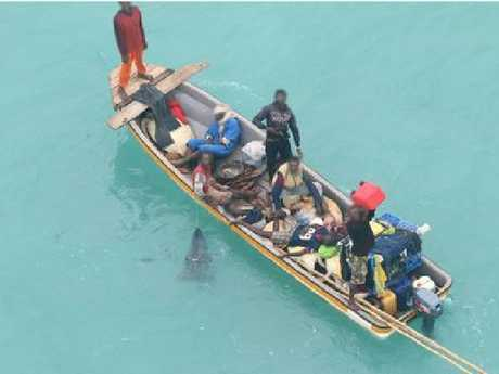 Image of the bananna boat supplied by Border Force