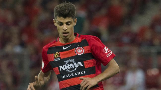 Western Sydney Wanderers defender Jonathan Aspropotamitis has ruptured his ACL