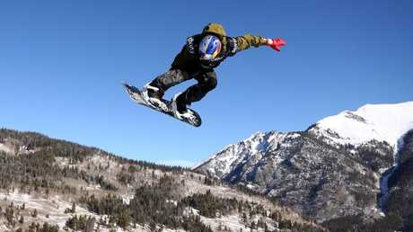Scotty James competes in the World Cup. Picture: Getty Images