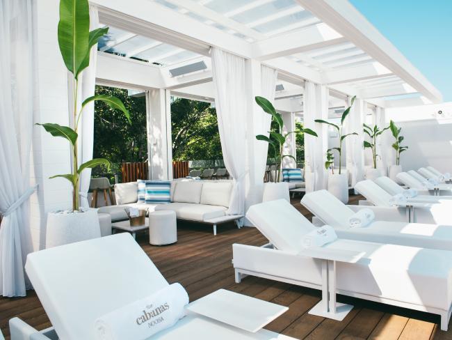 The Cabanas at Sofitel Noosa Pacific Resort.