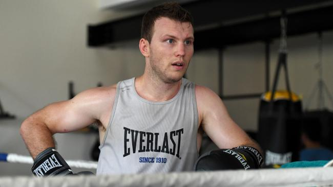 Jeff Horn is happy to be the underdog against Terence Crawford.