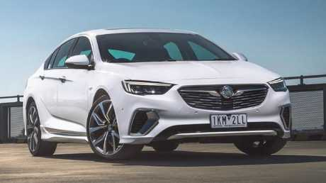 This is as sporty as the 2018 Holden Commodore gets. Will it be enough for diehard fans? Picture: Supplied.