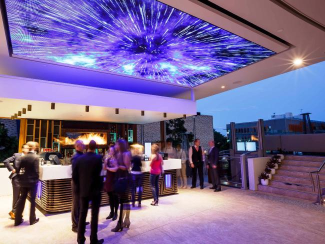 Soleil rooftop bar at Rydges Hotel, South Brisbane