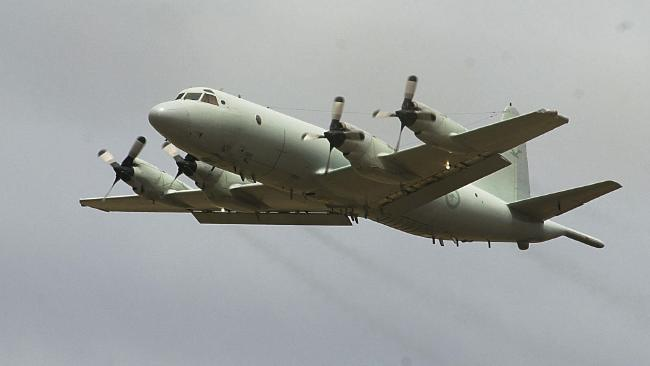 A RAAF P-3C Orion taking off from Edinburgh. Source: File