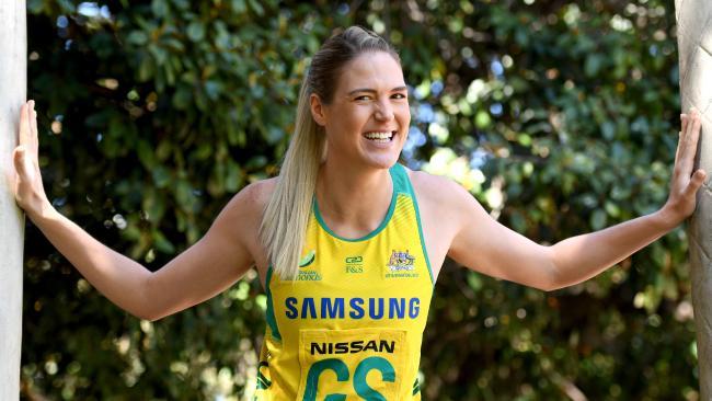 Diamonds captain Caitlin Bassett will lead Australia at the Games.