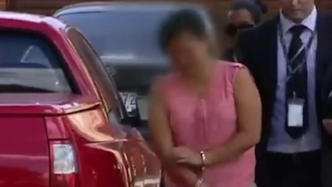 Amy Tran is accused of attacking an elderly woman who was out walking her dog. Picture: Screengrab/Seven