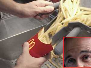 How McDonald's fries could be linked to curing male baldness