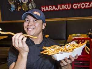 Harajuku Gyoza crispy foot long fries