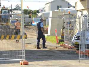 Shallow grave uncovered at construction site