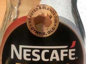 Nescafe coffee with a local Gympie twist