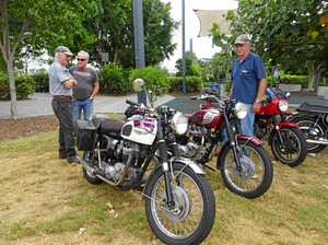 Historical motorcyle enthusiasts hold 25th annual Swap