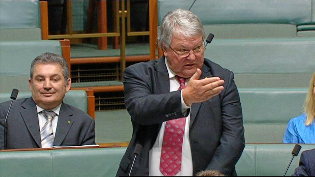 Flynn MP, Ken O'Dowd in parliament