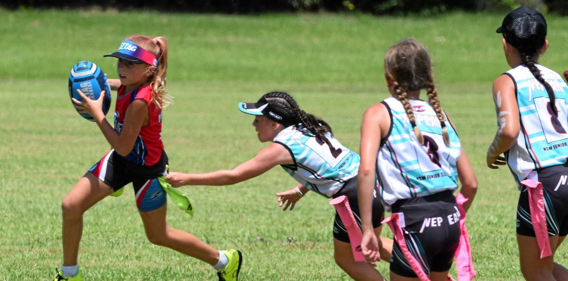 OZTAG STARS: The NSW Junior State Cup kicks off in Coffs Harbour on Friday.