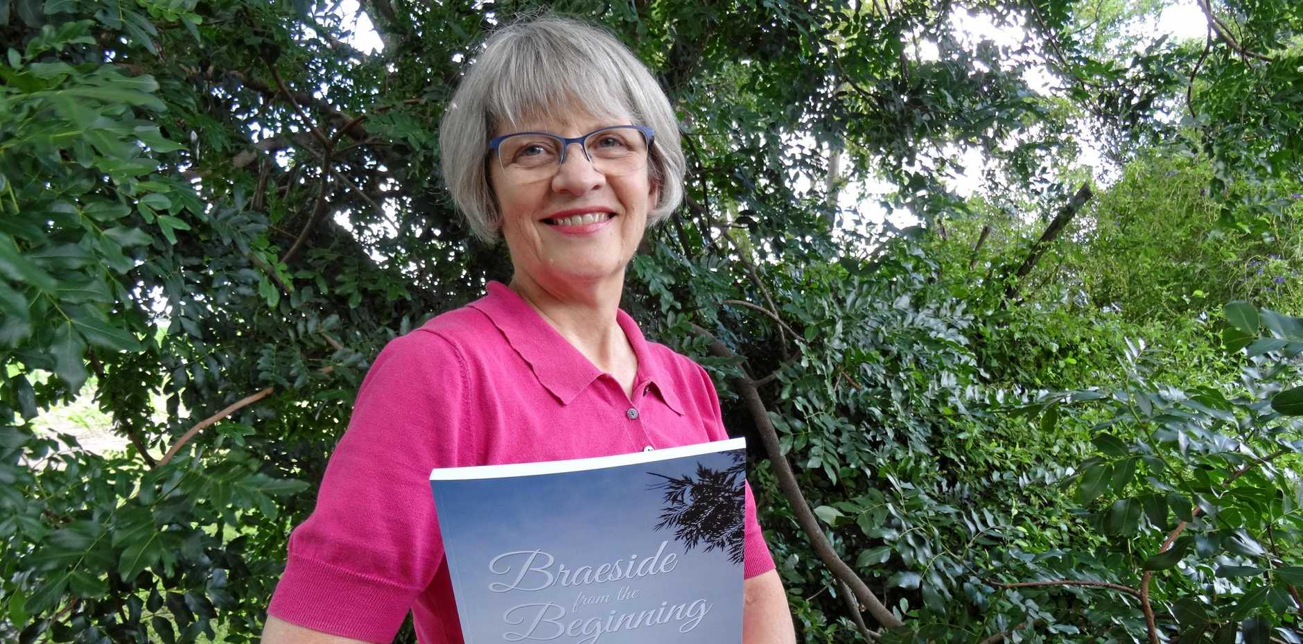 LAND HISTORY: Lesley Beames has published 'Braeside from the Beginning,' a book on settlement.