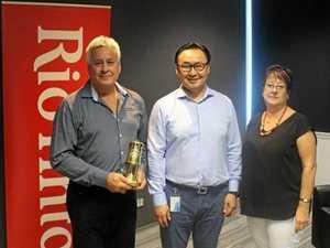 CQ hero wins international mining award