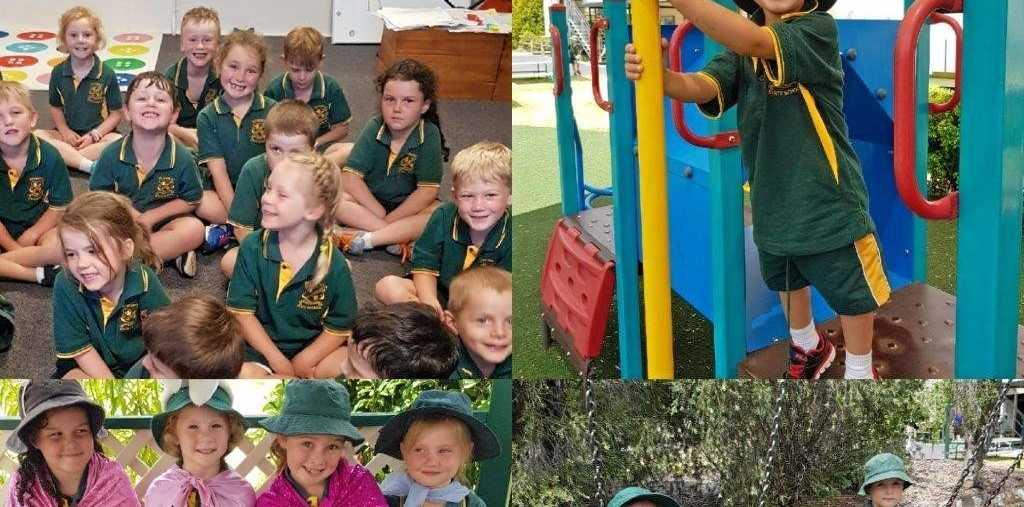 PUPILS SHINE: Severnlea's Preps enjoy their new school.
