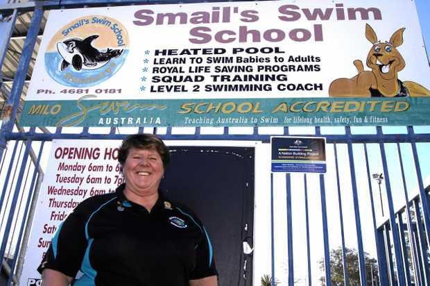 SINK OR SWIM: Gail Smail.