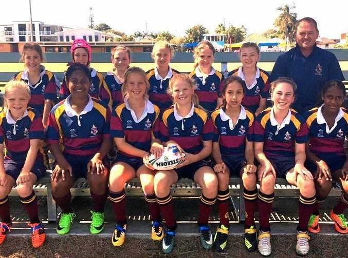 The new girls-only competition allows more girls to play rugby league this year.