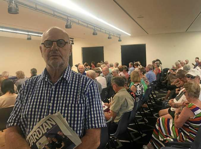 EXIT: Dr Philip Nitschke presented a workshop and public meeting in Bundaberg about the right to die.