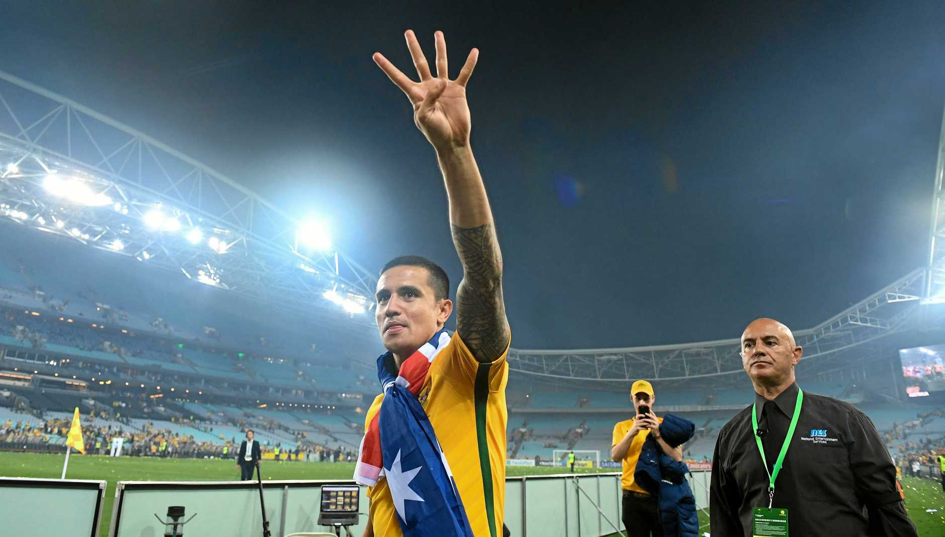 Tim Cahill has his sights set on a fourth World Cup.