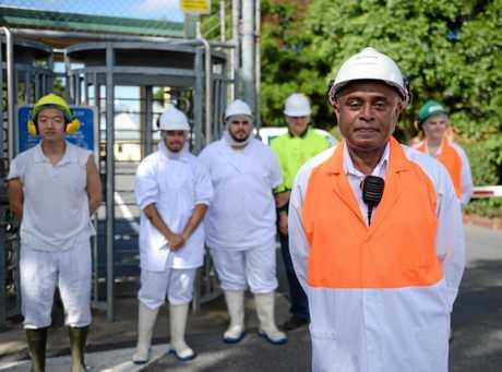 Teys General Manager of Operations Wasantha Mudannayake.