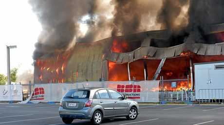 The Maroochydore Beach Gymnastics Club was destroyed in a fire during its renovation.