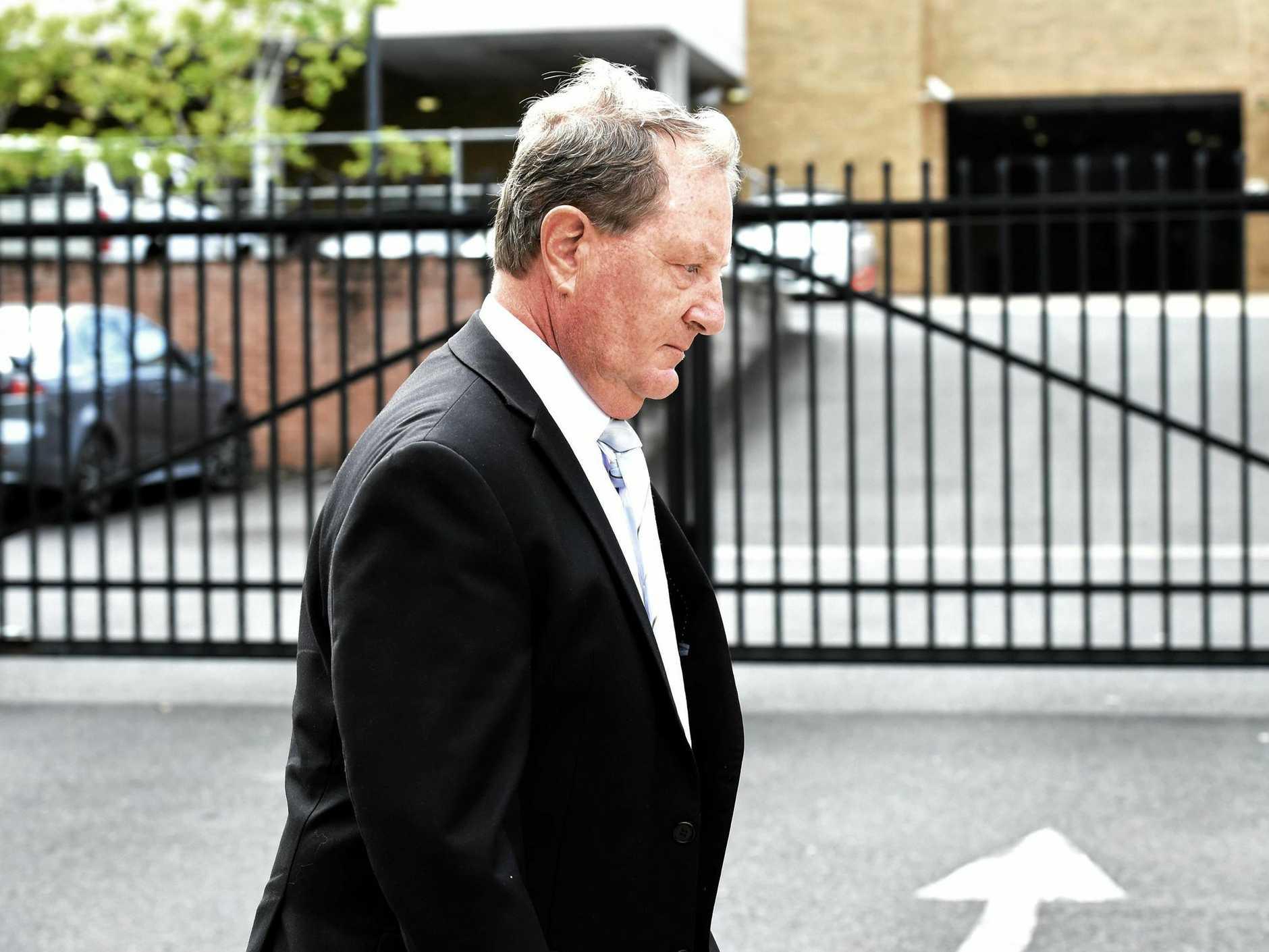 Glenn Allan Taylor leaving Lismore Local Court late last year.