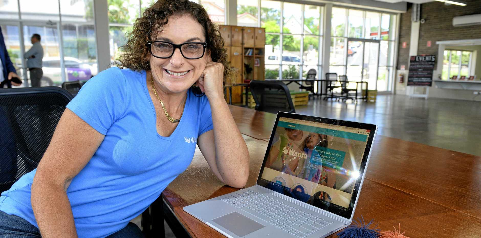 SMARTY PANTS: North Ipswich mum, entrepreneur and CEO Anne-Marie Walton has experienced major success with her app, Wantu.