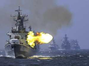 China unveils 'supergun' on warship that stuns the world