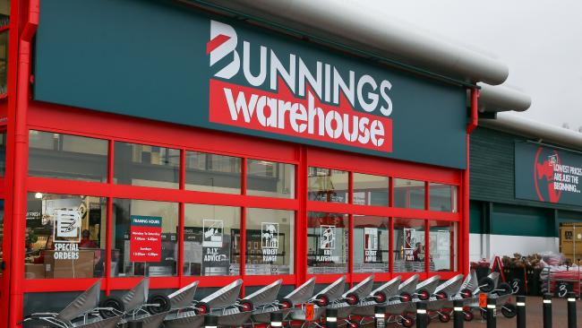 Bunnings' first British store in St Albans, north of London, opened in 2017.
