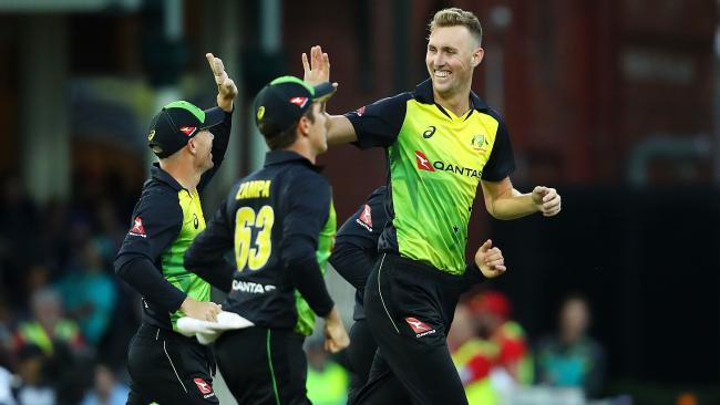 Billy Stanlake took 3-15 against New Zealand.
