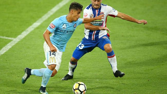Daniel Arzani of Melbourne City
