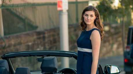 Kara Dennis hires her car out through DriveMyCar. Picture: Supplied