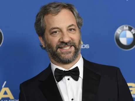 Judd Apatow arrives at the 70th annual Directors Guild of America Awards at The Beverly Hilton hotel on Saturday, Feb. 3, 2018, in Beverly Hills, Calif. (Photo by Chris Pizzello/Invision/AP)